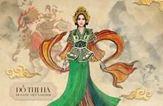 Hoa hậu Đỗ Hà mang hình ảnh nữ tướng Bà Triệu đến Miss World 2021