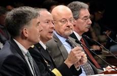 Giới chức an ninh Mỹ điều trần ở Hạ viện về vụ nghe lén