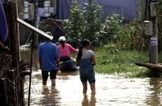 Mưa lớn và triều cường gây ngập lụt ở Thừa Thiên-Huế