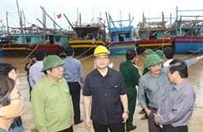 Phó Thủ tướng thị sát công tác phòng, chống bão Haiyan