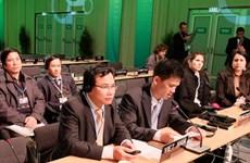 Việt Nam tích cực tham gia hội nghị về biến đổi khí hậu