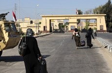 Ai Cập mở lại cửa khẩu Rafah ở Dải Gaza trong 3 ngày