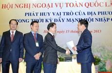 Ngoại vụ địa phương góp phần vào thắng lợi ngoại giao