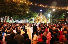 Đồng bào Công giáo cả nước tưng bừng đón Giáng sinh