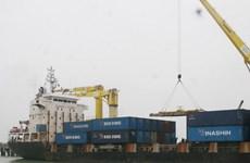 Cảng Tiên Sa, Cái Lân đón chuyến hàng đầu năm mới