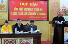 Nhiều hoạt động tâm linh tại Lễ hội Xuân Yên Tử 2014