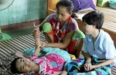 TTXVN tặng nhà tình nghĩa cho nạn nhân chất độc da cam