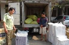 Bắt giữ số lượng lớn thuốc lá nhập lậu từ Campuchia