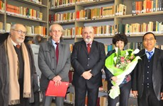 Khánh thành thư viện về Việt Nam và Bác Hồ tại Italy