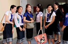 Ngày càng nhiều sinh viên Lào du học tại Việt Nam