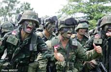 Singapore và Thái Lan kết thúc cuộc tập trận thường niên