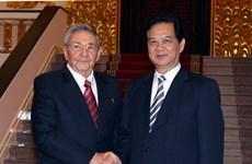Củng cố quan hệ truyền thống đặc biệt Việt Nam-Cuba