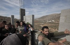 Chính khách Israel, Palestine ủng hộ Sáng kiến hòa bình Arab