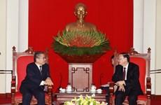 Đoàn đại biểu Đảng Cộng sản Nhật Bản thăm Việt Nam