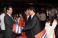Thủ tướng Nguyễn Tấn Dũng bắt đầu chuyến thăm Cuba