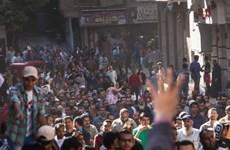 Đụng độ giữa người biểu tình và lực lượng an ninh Ai Cập