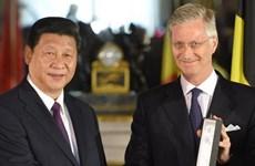 Trung Quốc-Bỉ tăng cường quan hệ thương mại, đầu tư