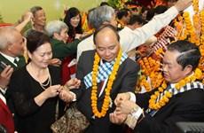 Tưng bừng Tết cổ truyền Bun Pi May của Lào tại Hà Nội