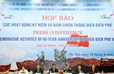 Nhiều hoạt động kỷ niệm 60 năm Chiến thắng Điện Biên Phủ