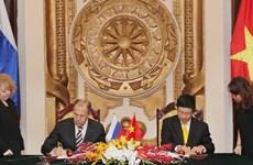 Nga đánh giá cao vai trò ngày càng lớn của Việt Nam