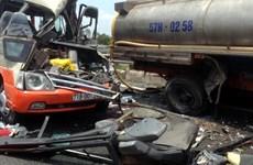 Vụ tai nạn ở cao tốc TP.HCM-Trung Lương: Đã có 5 người chết