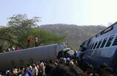 Nhiều người bị thương do tàu hỏa trật bánh ở Ấn Độ