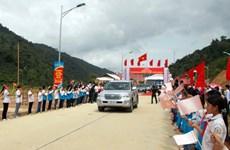Điện Biên: Thông đường vành đai đi cửa khẩu Huổi Puốc