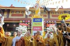 Thăm và tặng quà nhân Đại lễ Phật đản Phật lịch 2558