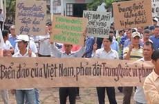 Ngư dân Quảng Nam phản đối Trung Quốc hạ đặt giàn khoan
