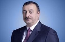 Tổng thống Azerbaijan thăm chính thức Việt Nam từ 20/5