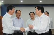 Chủ tịch nước thăm doanh nghiệp FDI tại tỉnh Bình Dương