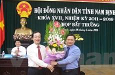 Ông Bạch Ngọc Chiến làm Phó Chủ tịch UBND Nam Định