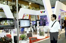 Khai mạc triển lãm quốc tế phim và công nghệ truyền hình