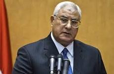 Tổng thống lâm thời Ai Cập thông qua luật bầu cử quốc hội mới