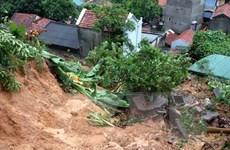 Lào Cai: Mưa lớn gây sạt lở, một người bị thương nặng