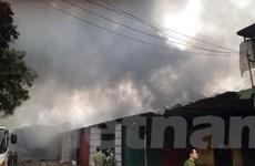 Quảng Nam: Kịp thời dập tắt đám cháy tại phân xưởng gỗ