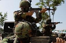 Hàn Quốc và Mỹ sẽ không thay đổi kế hoạch tập trận chung