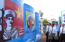 Triển lãm tranh cổ động về đoàn kết bảo vệ và xây dựng Tổ quốc