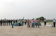 Hồi hương hai bộ hài cốt quân nhân Hoa Kỳ mất tích ở Việt Nam