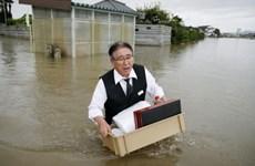 Bão lũ hoành hành ở Nhật Bản làm 22 người chết và bị thương