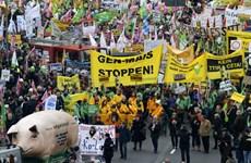 Khoảng 100.000 người biểu tình phản đối Hiệp định TTIP tại Đức