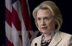 Bầu cử Mỹ 2016: Tỷ lệ ủng hộ bà Hillary Clinton giảm mạnh