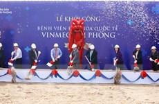 Vingroup đầu tư 2.000 tỷ đồng xây bệnh viện Vinmec Hải Phòng