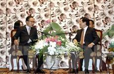 Chủ tịch nước tiếp cựu Tổng thống Hàn Quốc Lee Myung Bak