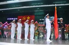 Bộ Tư lệnh Vùng 5 Hải quân đón nhận Huân chương Quân công