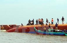 Tàu Hoàng Phúc 18 sắp được lai kéo về khu vực biển Vũng Tàu
