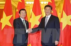 Quan hệ Việt-Trung tiếp tục duy trì xu thế phát triển tích cực