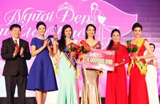 Lê Trần Ngọc Trân đoạt hoa khôi cuộc thi Người đẹp du lịch Huế