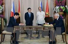 Tuyên bố chung về quan hệ đối tác chiến lược Việt Nam-Philippines