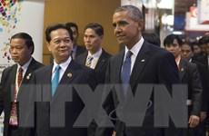 Thủ tướng Nguyễn Tấn Dũng gặp Tổng thống Mỹ Barack Obama